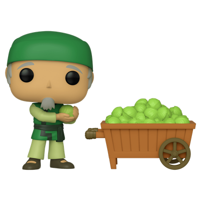 Funko Pop! Animation Cabbage Man and Cart