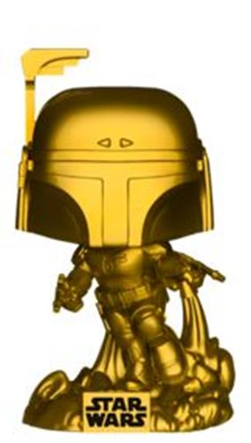 Funko Pop! Star Wars Jango Fett (Gold Metallic)