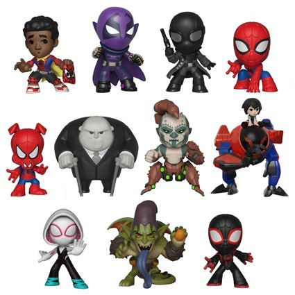 Mystery Minis Spider-man Into the Spider-Verse