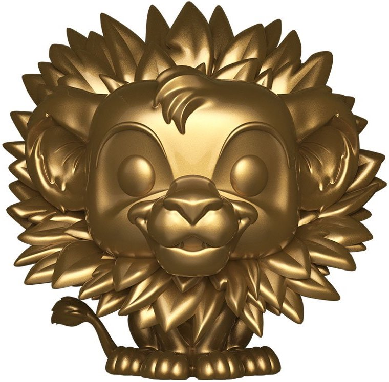 Funko Pop! Disney Simba (Leaf Mane) - Gold