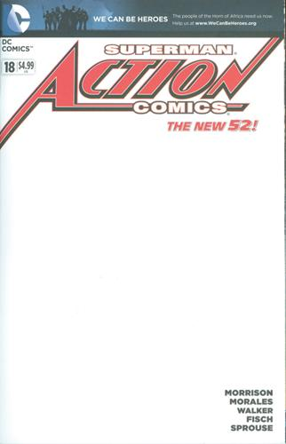 DC Comics Action Comics (2011 - 2016) Action Comics (2011) #18A Stock
