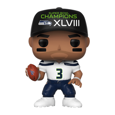 Funko Pop! Football Russell Wilson (White Jersey)