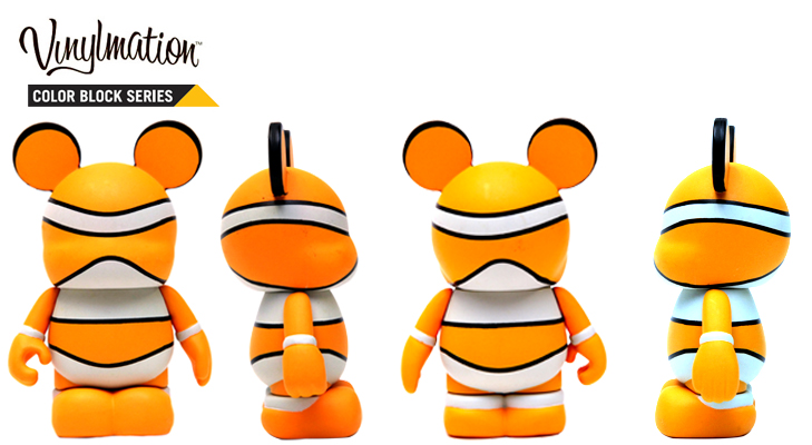 Vinylmation Open And Misc Color Block Nemo
