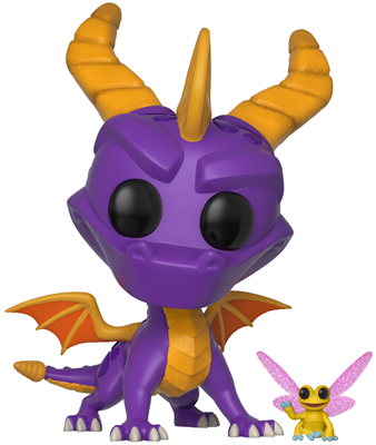 Funko Pop! Games Spyro & Sparx