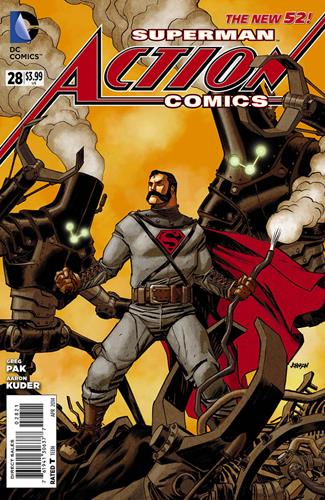 DC Comics Action Comics (2011 - 2016) Action Comics (2011) #28A Icon