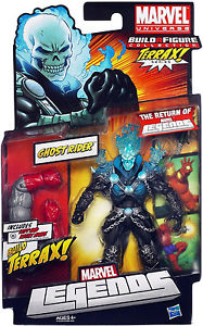 Marvel Legends Terrax Series Ghost Rider (Blue Flame Variant)