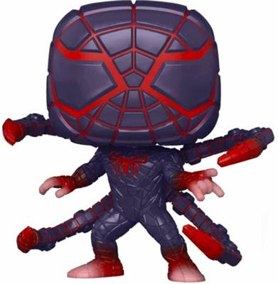 Funko Pop! Marvel Miles Morales (Programmable Matter Suit) Icon