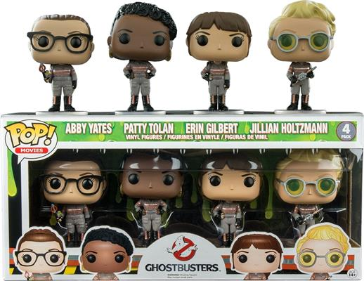 Funko Pop! Movies Ghostbusters (4-Pack) Stock Thumb