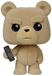 Funko Pop! Movies Ted (Remote) - Flocked