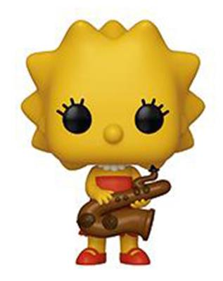 Funko Pop! Animation Lisa Simpson w/ Saxophone Icon