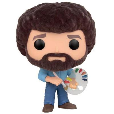 Funko Pop! Television Bob Ross (Flocked)