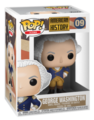 Funko Pop! Icons George Washington Stock