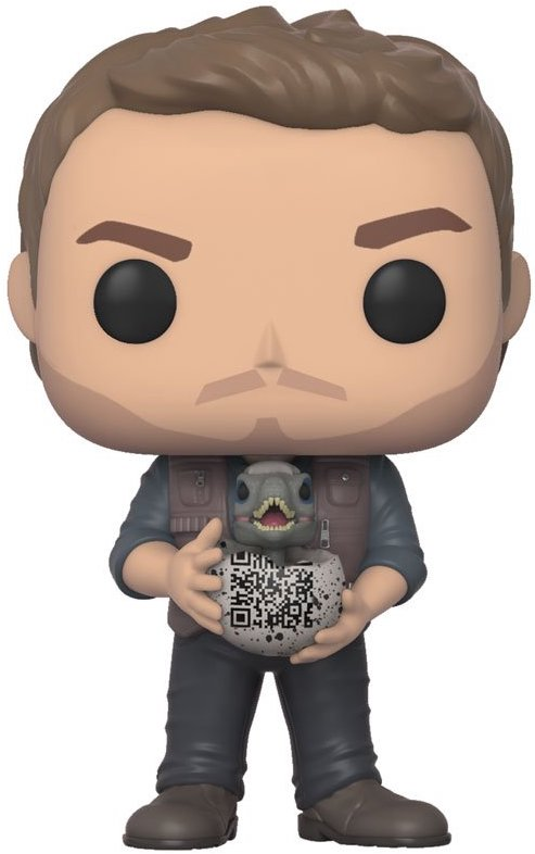 Funko Pop! Movies Owen Grady (w/ Baby Raptor)