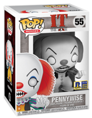 Funko Pop! Movies Pennywise (B&W) Stock