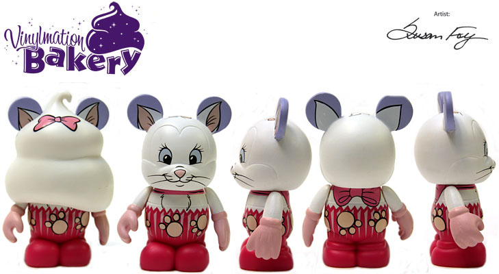 Vinylmation Open And Misc Bakery Marie Cupcake
