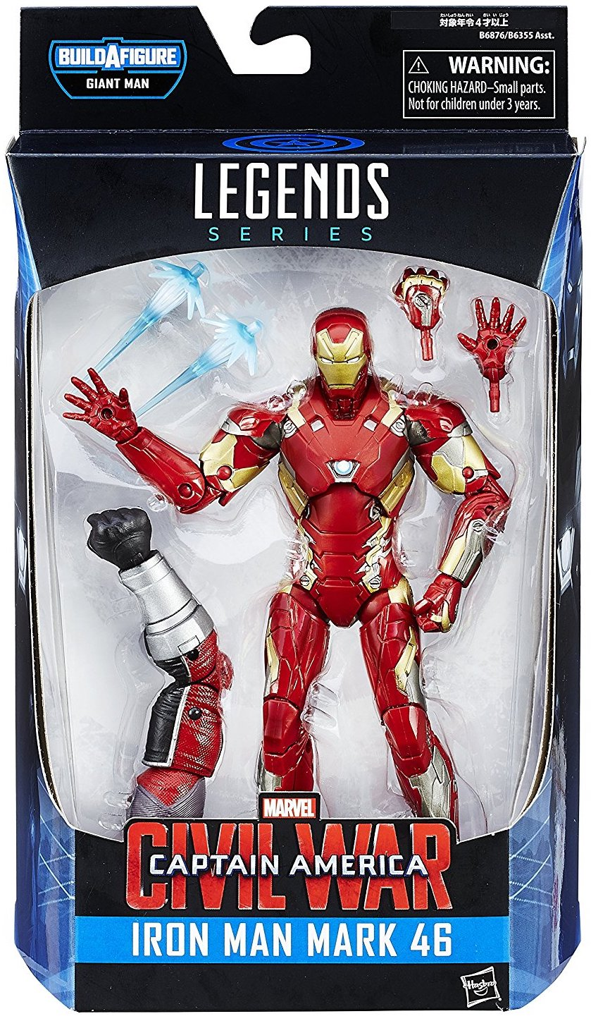 Marvel Legends Giant Man Series Iron Man