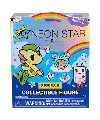 Tokidoki Neon Star Series 5 Ciotilina in Mint Stock