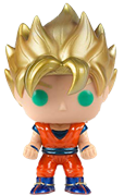 Funko Pop! Animation Goku (Super Saiyan) - Metallic