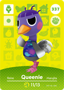 Amiibo Cards Animal Crossing Series 4 Queenie