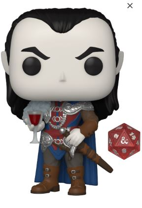 Funko Pop! Games Strahd With D20 Dice