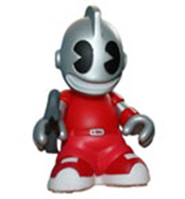 Kid Robot Blind Boxes Bots KidVandal (Red)