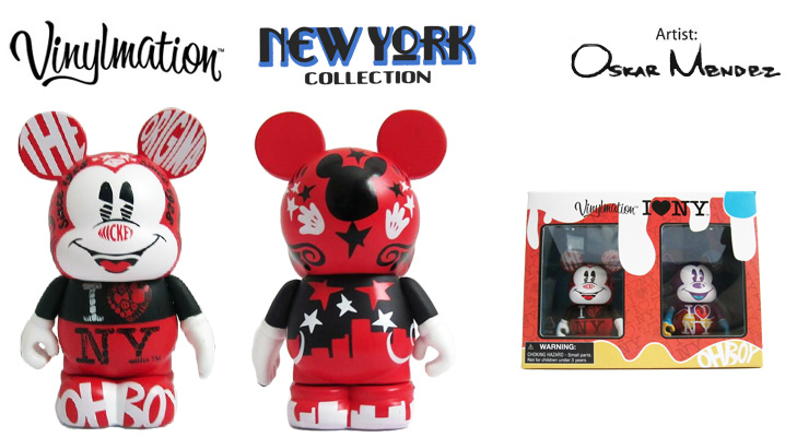 Vinylmation Open And Misc New York City The Original, Oh Boy