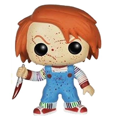 Covetly Funko Pop Movies Chucky Bloody 56