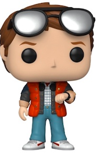 Funko Pop! Movies Marty Checking Watch Icon