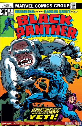Marvel Comics Black Panther (1977 - 1979) Black Panther (1977) #5 Icon