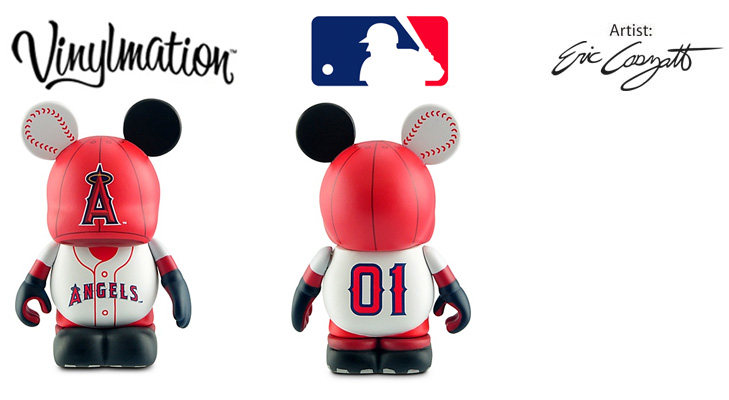 Vinylmation Open And Misc MLB The Los Angeles Angels of Anaheim