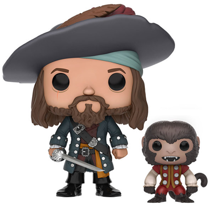 Funko Pop! Disney Barbossa (w/ Monkey)
