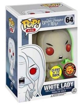 Funko Pop! Asia White Lady (Glow) Stock