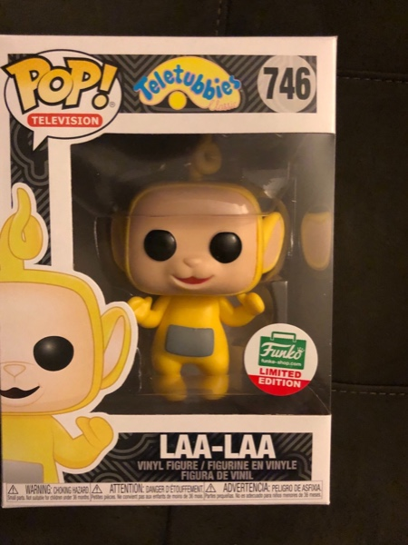 Teletubbies Laa-Laa In Stock Funko Limited Edition! Pop #746 Funko Pop