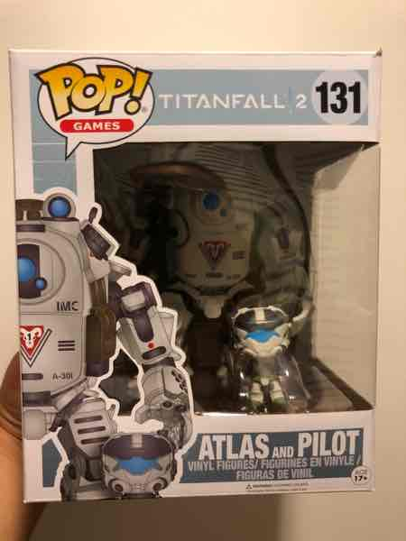 Funko Pop! Games Atlas with Pilot mikehilarious on covetly