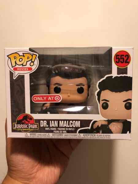Funko Pop! Movies Dr. Ian Malcolm (Injured) mikehilarious on covetly