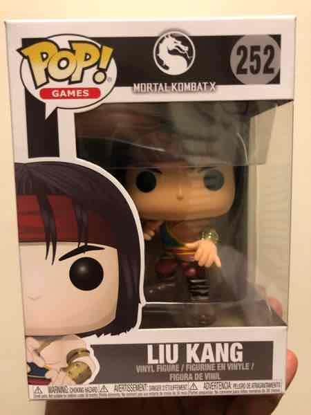 Funko Pop! Games Liu Kang mikehilarious on covetly