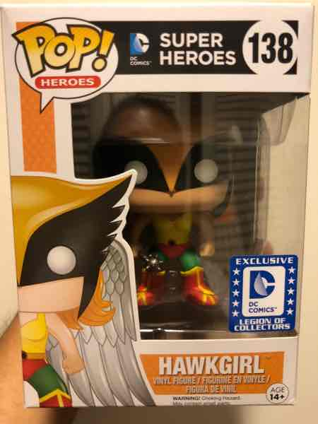 Funko Pop! Heroes Hawkgirl mikehilarious on covetly