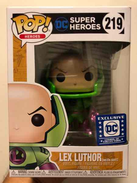Funko Pop! Heroes Lex Luthor (Mech Suit) mikehilarious on covetly