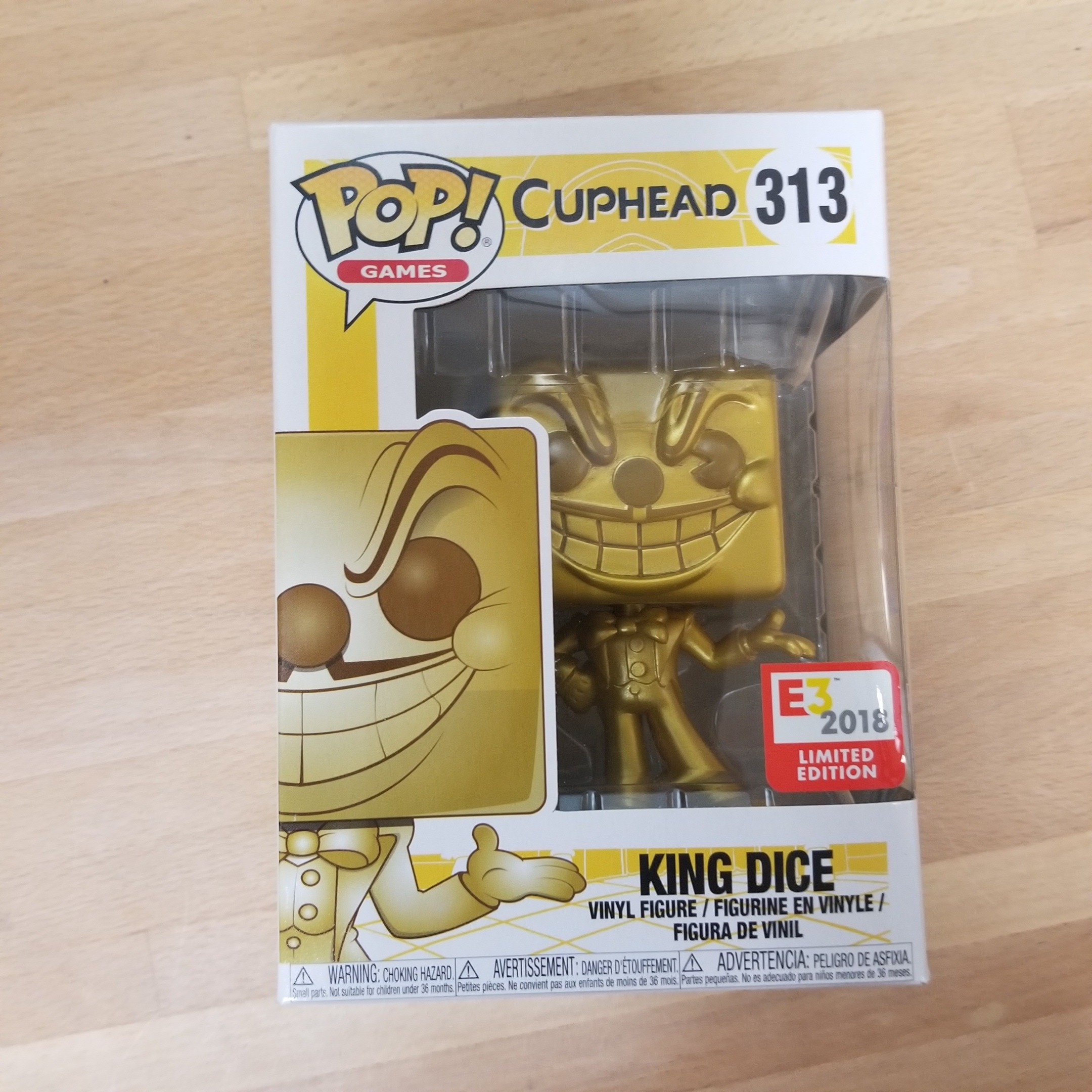 Funko Pop! Games King Dice (Gold) FlowerChild on covetly