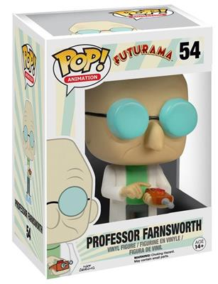 Funko Pop! Animation Professor Farnsworth Stock