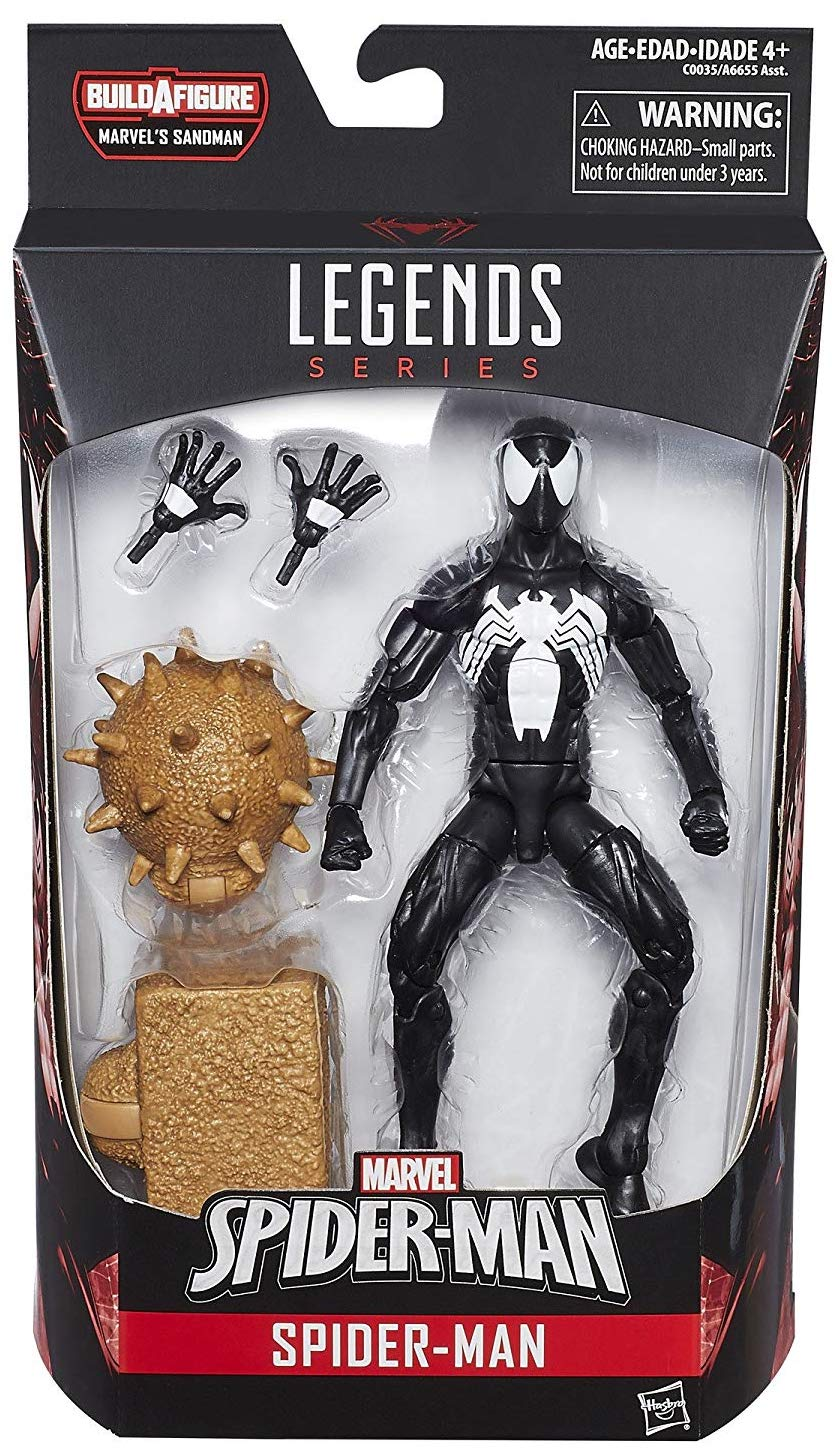 Marvel Legends Sandman Series Spider-Man (Symbiote)