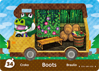 Amiibo Cards Welcome amiibo Boots