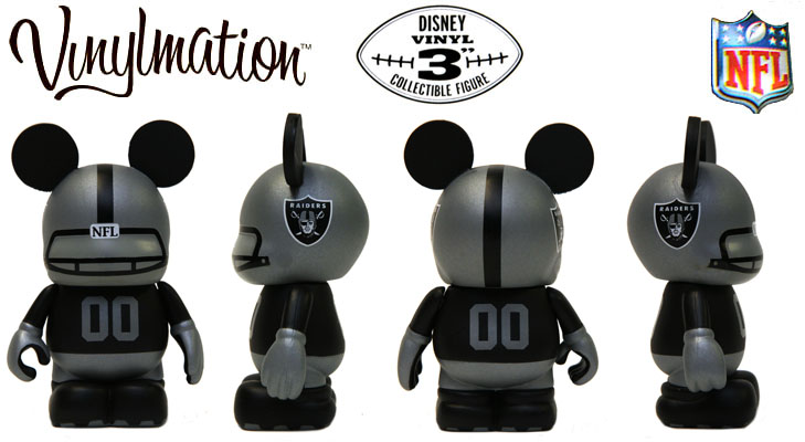 Vinylmation Open And Misc NFL Oakland Raiders