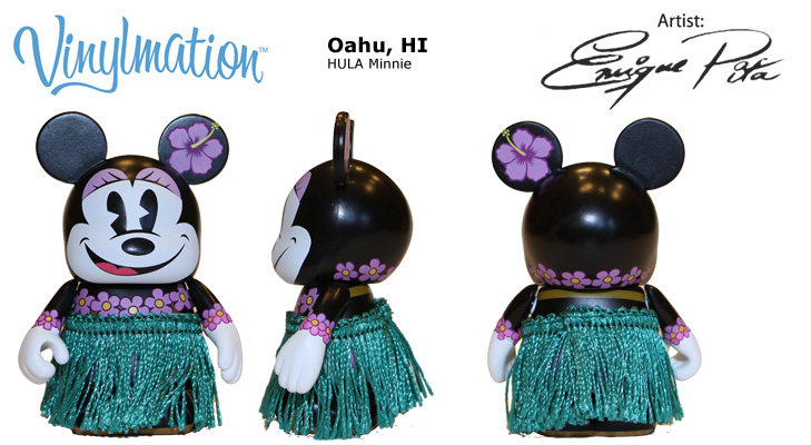 Vinylmation Open And Misc City Hula Minnie