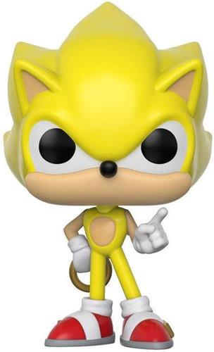 Funko Pop! Games Sonic (Super)