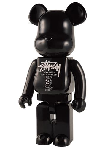 Be@rbrick Misc Stussy World Tour (Black) 1000% Icon