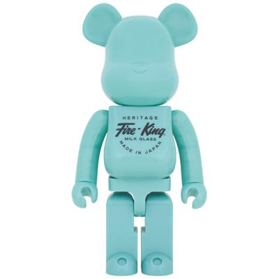 Be@rbrick Misc Fire-King (Jade-Green) 1000%