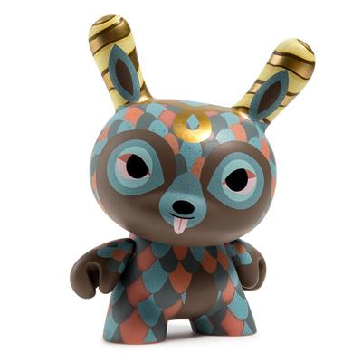 "Kid Robot 5"" Dunnys Curly Horned Dunnylope"