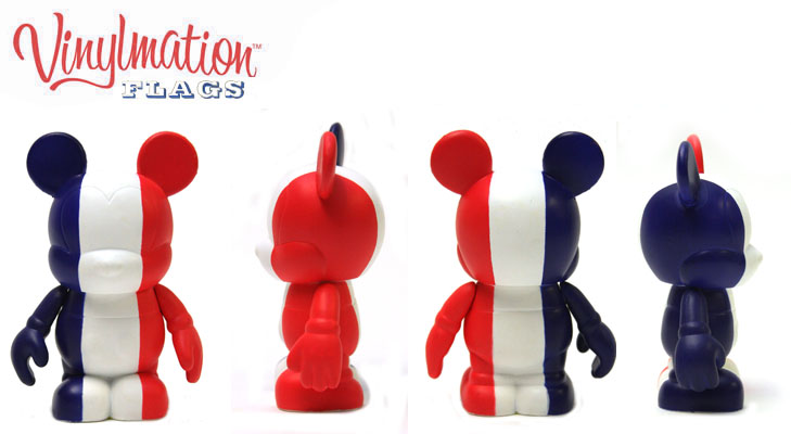 Vinylmation Open And Misc Flags France