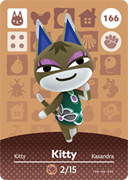 Amiibo Cards Animal Crossing Series 2 Kitty